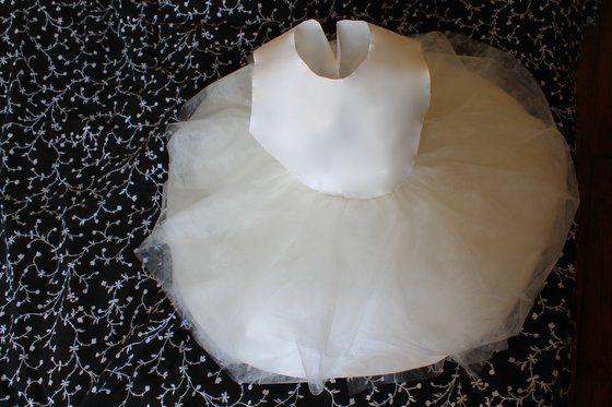 Flower girl dress created by Silvene Hedon